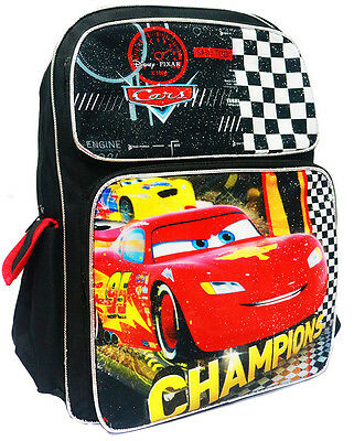 New Large Kids Backpack School Bags Boys Disney Cars Girls Gift Picnic Daycare