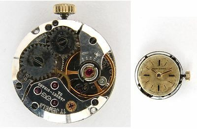 JAQUET GIRARD eta 2412 original ladies watch movement for parts / repair  (4910)
