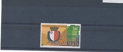 Malta 1989  £1 New State Arms single value