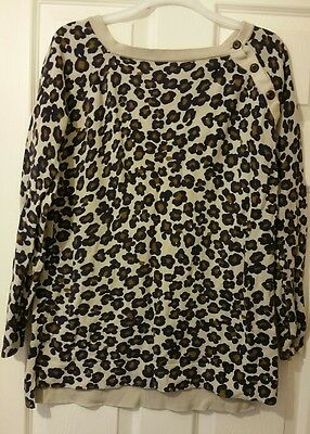 Ladies Maternity Mamas and Papas jumper size 10