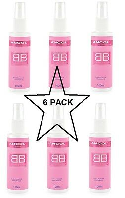 Ancol 100ml BB Dog Cologne Baby Powder Fragrance Box of 6