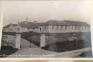 POSTCARD CHIPPING NORTON COUNTY SCHOOL - UNPOSTED -  c 1935