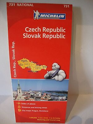 Map Of Czech And Slovak Republic