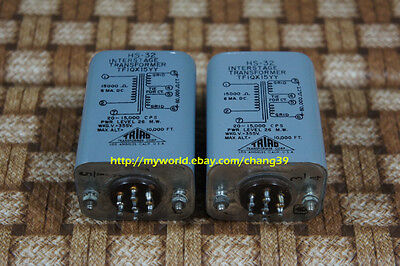 Triad Interstage Transformers for Western Electric Westrex Tube Power Amplifier