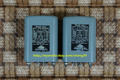 Triad Input Phono MC Step up Transformers for Western Electric Ortofon Cartridge