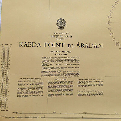 Admiralty Charts and Publications: Iraq - Set of 3