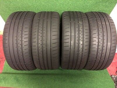 225 40 18  Continental Sport Contact 2    Tyres  5.5-6 Mm Tread X2