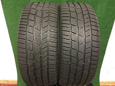 245 40 20  CONTINENTAL WINTER CONTACT TS830P   TYRES  6.5+7 mm TREAD !  X2 .