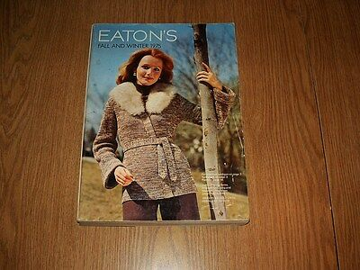 1975 Eaton's Catalog Fall And Winter Department Store Canada