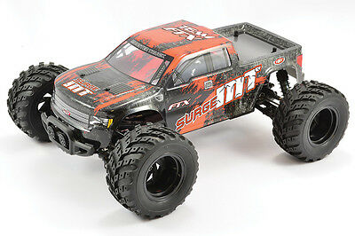 FTX Surge Electric Brushed Monster Truck 4WD 1:12th Scale RTR ORANGE - FTX5513O