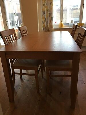 John Lewis Ellis Extending Dining Table and 6 Chairs