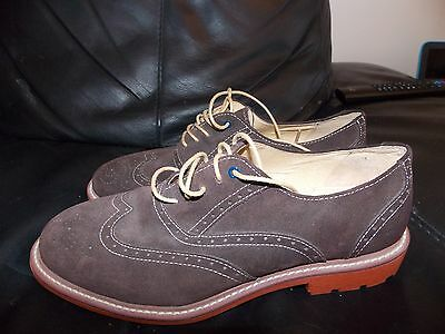 Brand New Mens Designer Steptronic Sheepskin Leather Brogue Shoes Rrp £135  Uk 8