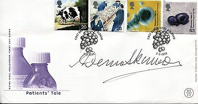 Patients' Tale fdc 1999 SIGNED Dennis Skinner