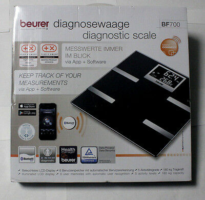 Beurer scale - BF 700 - Body Fat Scale