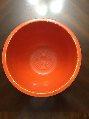 Vintage Fiestaware Red Bowl No. 3