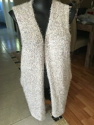 Ladies Long Knitted Vest (Size XL)