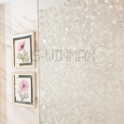 90cm*1m 3D Static Cling Decorative stained Glass Privacy Window Film