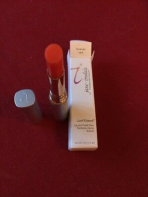 Jane Iredale Just Kissed Lip & Cheek Stain Forever Red 3G