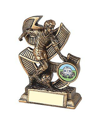 Antique Gold Football Resin Trophy FREE ENGRAVING