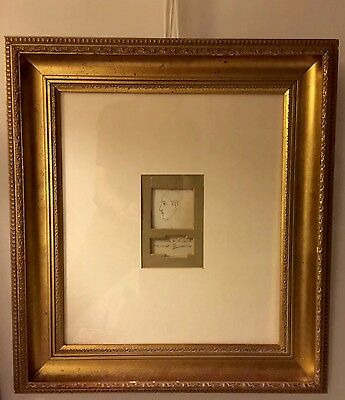 AUTHENTIC J.A McNeill WHISTLER 1834-1903 HAND DRAWING In PEN & INK FRAMED