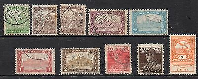 Hungary: A Nice Selection of 10-Early Used 1916-1918 Issues