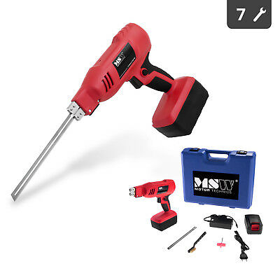 Polystyrene Cutter With 2 Lithium-Ion Batteries Charger And Accessories - 180 W