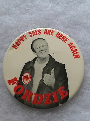 GGERALD FORD Presidential Campaign Pinback