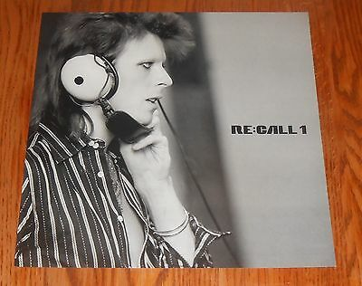 David Bowie RE:Call1 Poster Flat Square 12x12