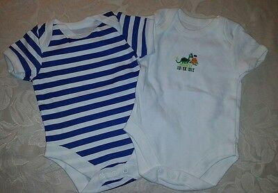 Baby Boys Short Sleeved Twin Set (0-3 month)