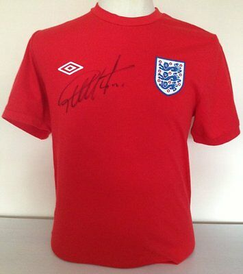 Geoff Hurst signed England shirt with COA