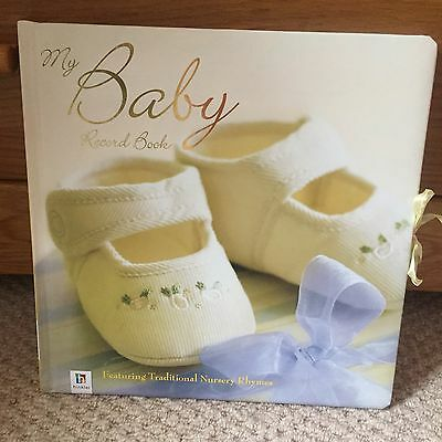 My Baby Record Book Unisex Brand New