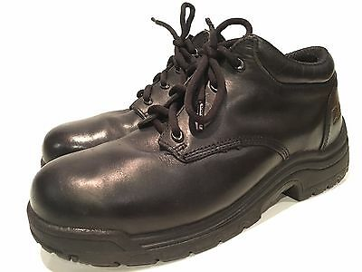 Timberland Pro Titan Men's Alloy Safety Toe Oxford Black Work Shoes Size 11 W