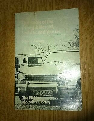 The Book of the Triumph Herald Spitfire & Vitesse Pitman's + First Aid Kit