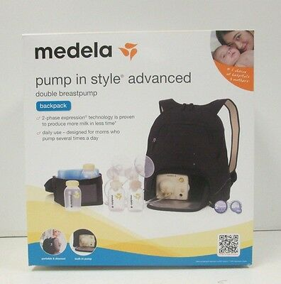 New Factory Sealed Medela Pump In Style Advanced Breast Pump Backpack 57062