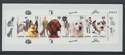 Cyprus 2005 Dogs in Man's Life Booklet