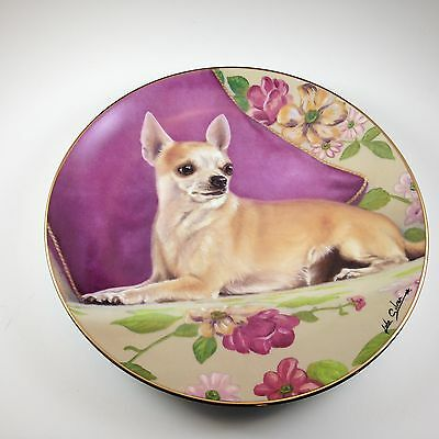 Danbury Mint Chihuahua Plate Reserved Seating