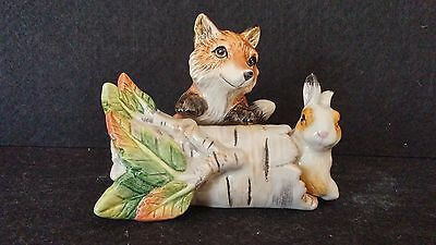 Fitz and Floyd High Sierra Salt and Pepper Shakers