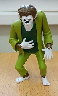 "Scooby doo large 5"" wolfman monster figure - RARE"