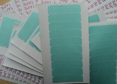 Pre-Cut Double Sided Adhesive Super Tape for Skin Weft & Hair Extensions  * UK *