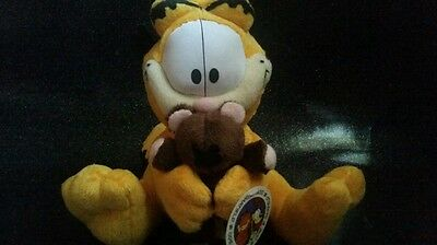 Garfield plush toy with pookie 2010