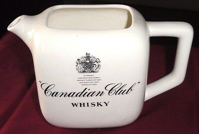 "Estate Collection! Canadian Club ""Whisky"" Pitcher~PERFECT Condition~Made In USA!"