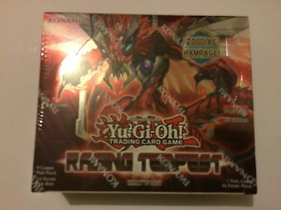 Yugioh Raging Tempest Sealed Booster Box