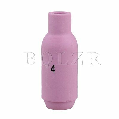 BQLZR Pink Ceramic Cup Nozzles 10N50 4# for TiG Welding Torch WP-17 18 26
