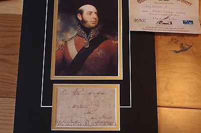 William The 1V Signed 18 X 12 Inch Portrait