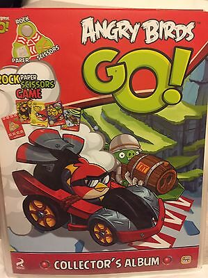 Angry Birds Collectors Album With 27 Cards Inside