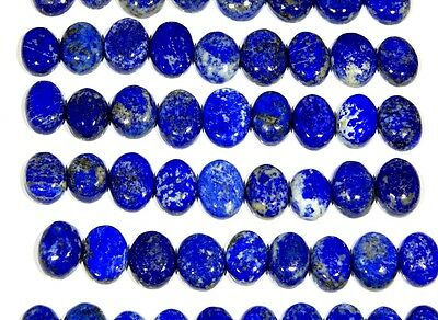 250 Ct Wholesale Lot Natural Lapis Lazuli Ring Size Cabochon Untreated Gemstone