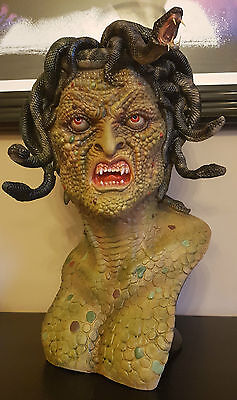 1/1 Life size bust Blackheart Medusa Hammer Horror Monster Hot sideshow