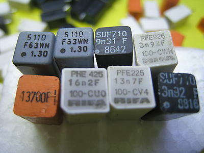 50stuck Unsorted SUF710;PFE225 Polystyrene Capacitors