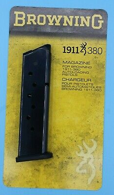Browning 1911-380 Magazine 8-Round RD .380-ACP 380-ACP Genuine OEM Clip Mag NEW