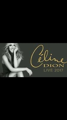 1 X Seated Celine Dion Tier 2 Block 209 Manchester 1 August 2017